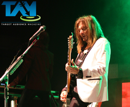 Ricky performs with Styx at the Macon City Auditorium - October 2014