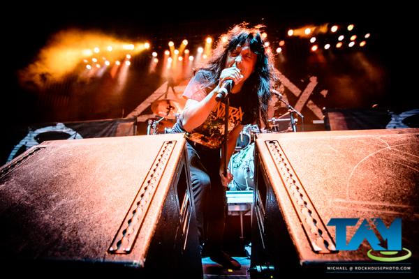 Anthrax, live at The Tabernacle, Atlanta, GA, 2016