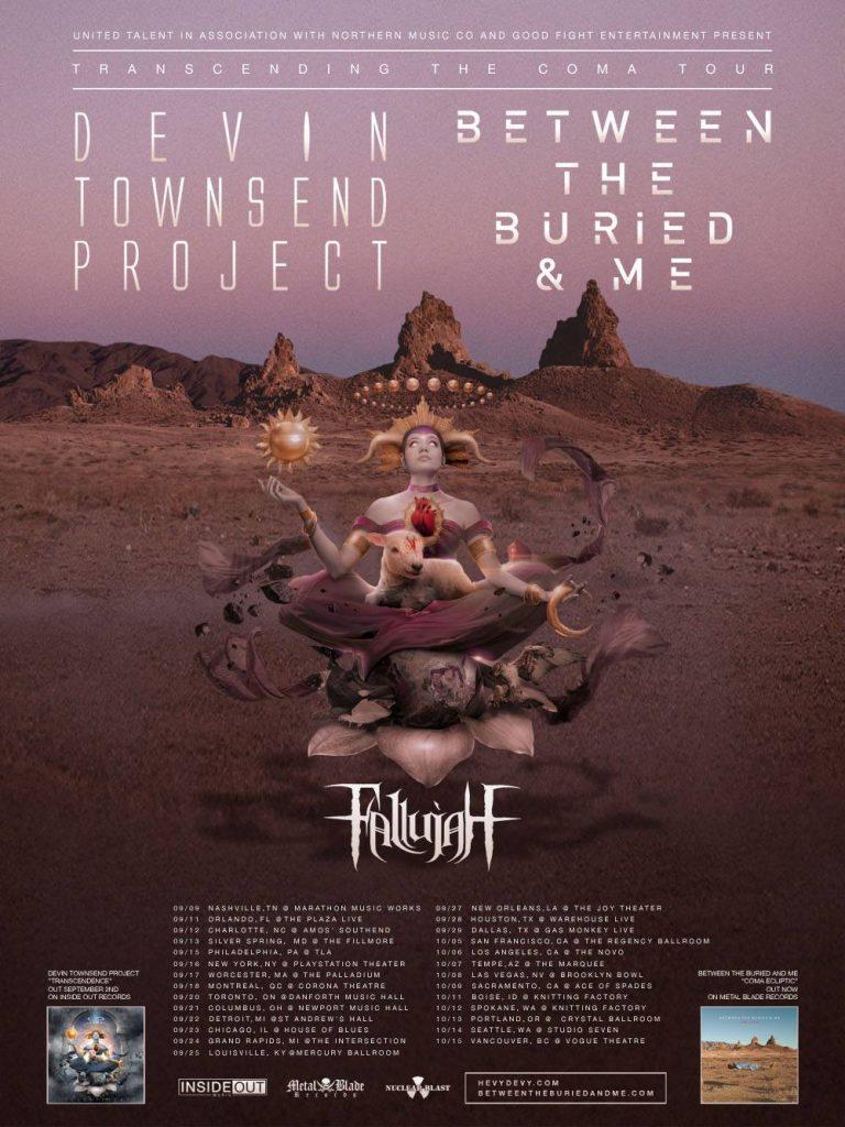 Devin Townsend - Transcendence Tour