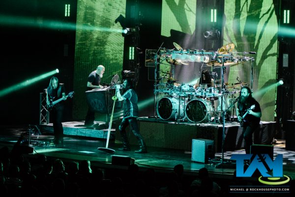 Dream Theater, live at Atlanta Symphony Hall, Atlanta, GA, December 4, 2016