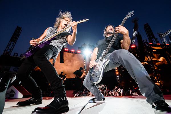 Metallica at Sun Trust Park in Atlanta, GA, Sunday, July 9, 2017