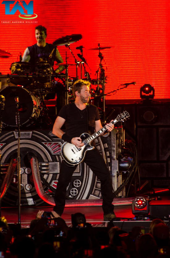 Nickelback, Daughtry, and Shaman's Harvest at Verizon